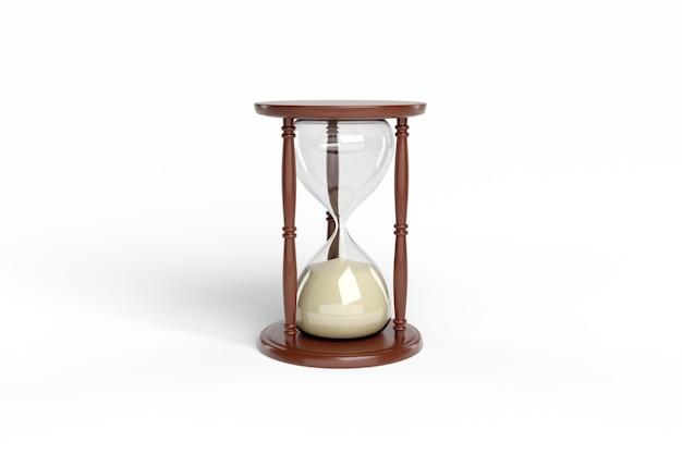 고립 된 모래 시계입니다.