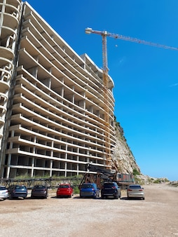 モンテネグロのペトロヴァックの住宅建設