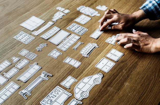 House decoration concept