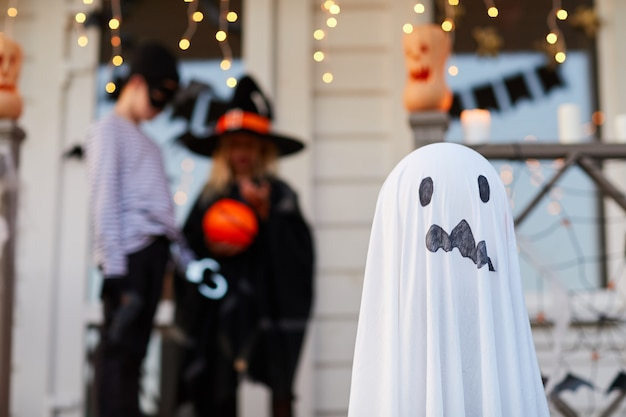 Домашние украшения для хэллоуина