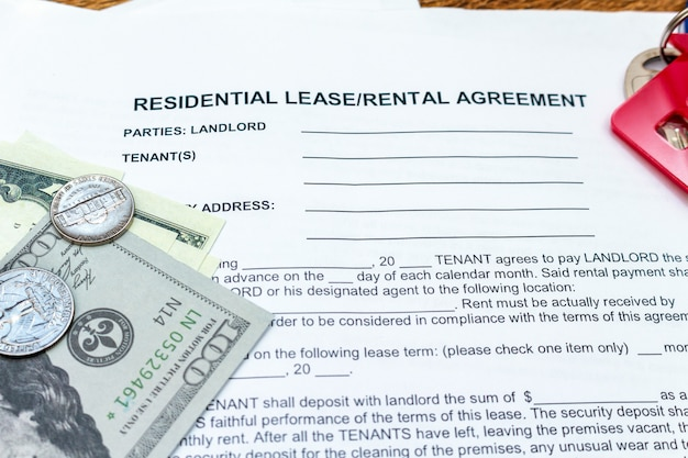 House, home, property, real estate lease rental contract agreement