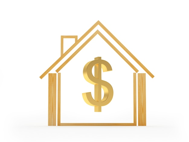 House icon with dollar sign inside