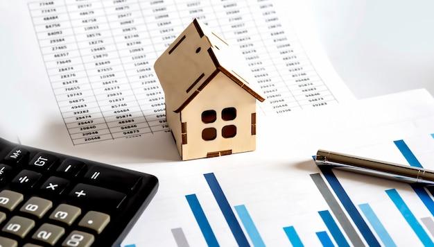 차트 문서의 집 모델 및 계산기