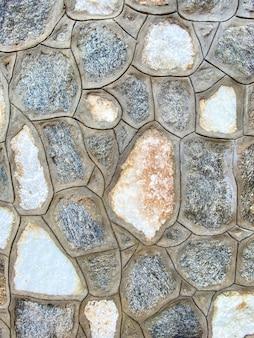 背景のテクスチャとして家の石の壁