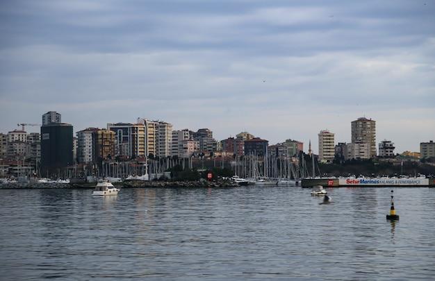 海の家の景色