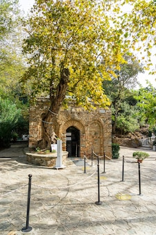 The house of the virgin mary in turkey