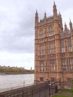 국회 의사당 웨스트민스터 궁전 런던 고딕 양식의 건축물