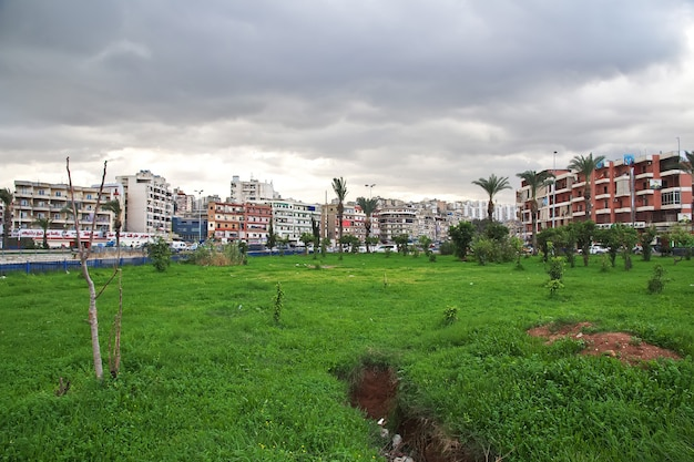 Houses in tripoli city of lebanon, middle east