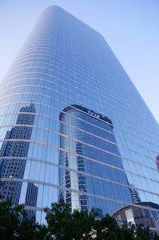 Houston texas blue buildings skyscraper city