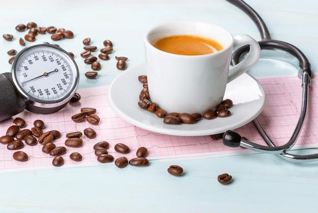 Сколько кофеина содержится в чашке кофе? кофе и давление. влияние кофе на кровяное давление человека.