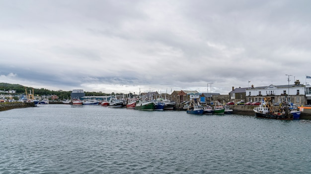 Howth漁港。