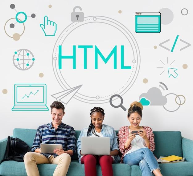 Значок домашней страницы html http веб-дизайна