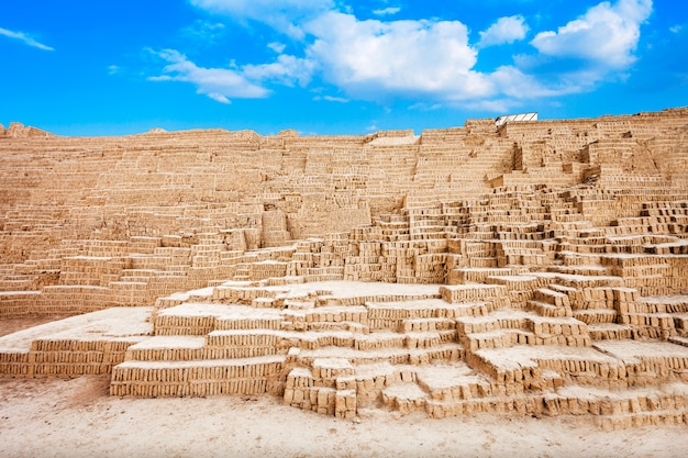 Huaca pucllana, lima city in peru