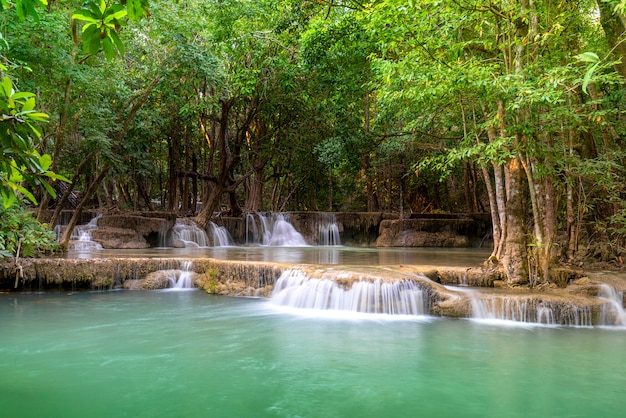 Huay mae khamin в национальном парке хуан сринагариндра, таиланд