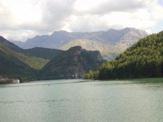 Уэска испания, пейзаж, природа