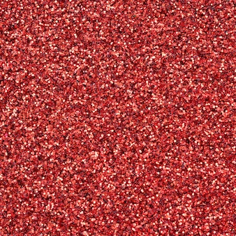 A huge amount of red decorative sequins