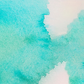Huge spill of turquoise paint