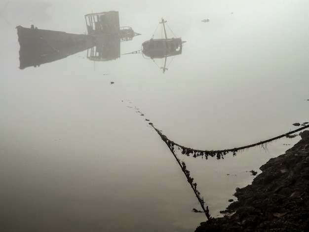 Hulks in the mist