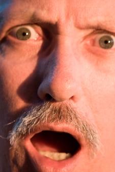 Human face, close-up, portrait