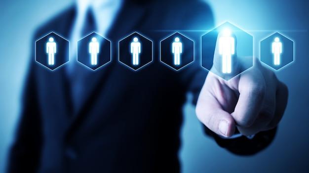 Бизнес по управлению человеческими ресурсами и найму персонала