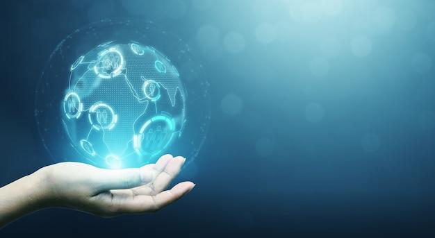 Human resource management and recruitment employment business concept