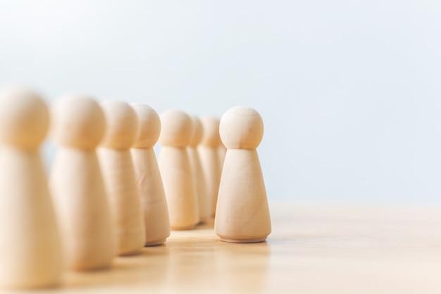 Human resource, talent management, recruitment employee, successful business team leader