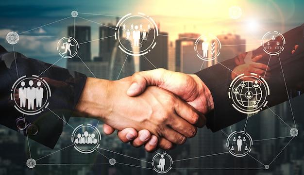 인적 자원 및 사람 네트워킹 개념