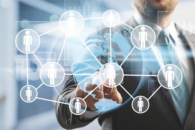 Кадровые ресурсы управление персоналом набор трудоустройства концепция хедхантинга