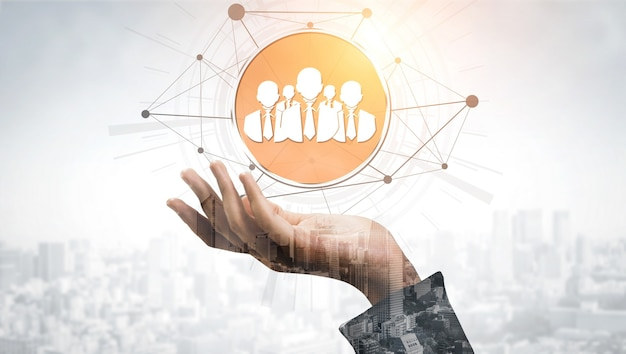 人事採用と人事ネットワークの概念