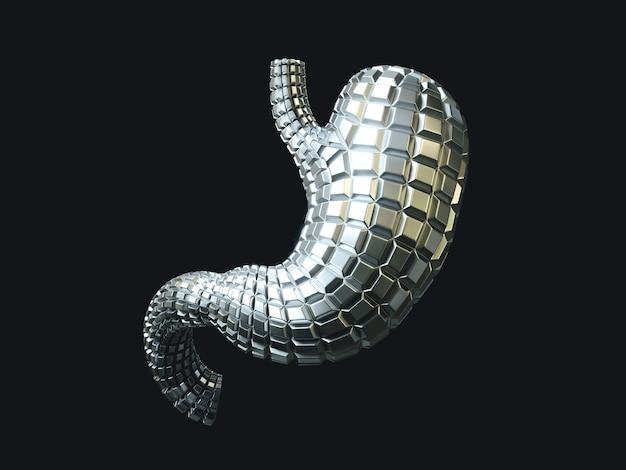 Человеческий желудок из металла