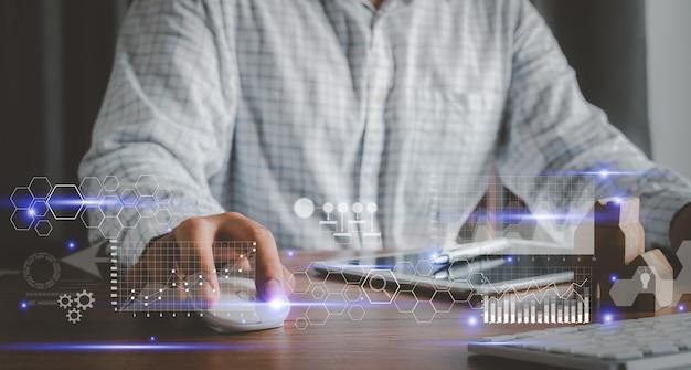 통계 수준의 디지털 마케팅을 위해 컴퓨터 기술을 사용하는 인간