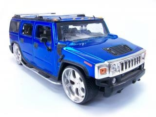 Синий игрушки hummer, альпинист