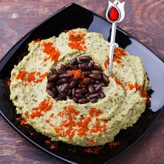 Hummus black bean
