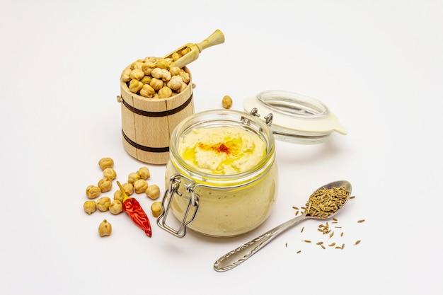 Hummus isolated