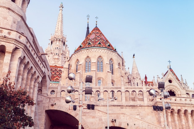 Hungary, budapest - september 26, 2018: buda castle is the palace complex of the hungarian kings in budapest