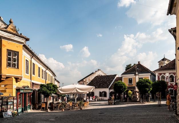 Старый город венгрии