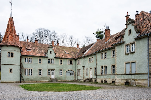 Hunting castle of count schonborn in carpaty