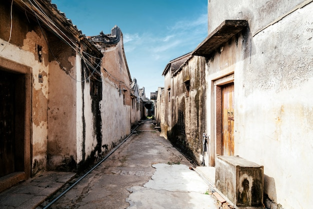 Hutong in the ancient village