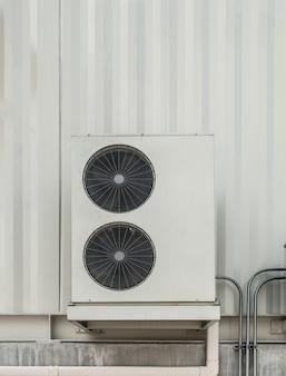 Hvac (отопление, вентиляция и кондиционирование воздуха), вращающиеся лопасти промышленных вентиляционных вентиляторов