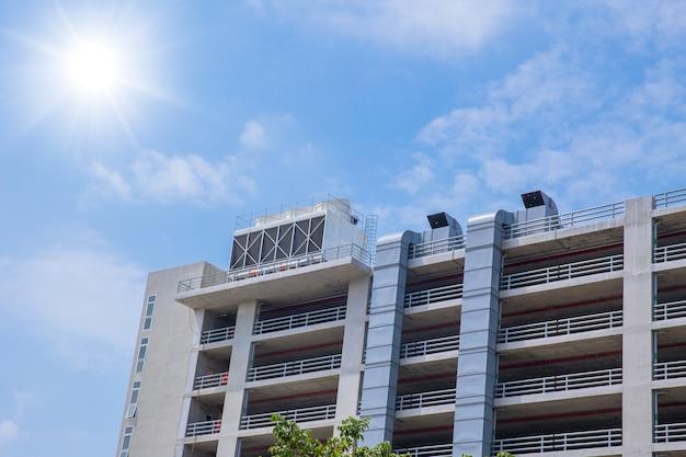 Воздухоохладители hvac на крышных блоках кондиционера для большой промышленности система воздушного охлаждения