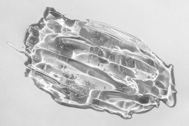 콜라겐과 펩타이드 글리세린이 함유된 히알루론산 질감 화장품 또는 젤 스미어 스머지