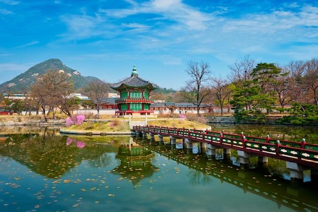 향원정 관, 경복궁, 서울, 대한민국