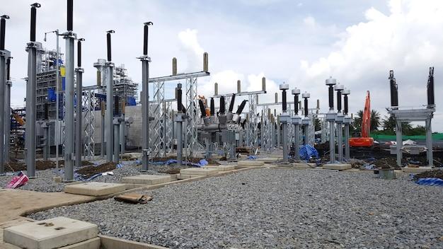 発電所の開閉所へのハイブリッド開閉装置の設置