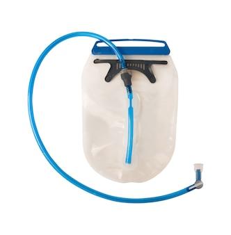 호스 및 바이트 밸브가 있는 수화 시스템 또는 물 저장통