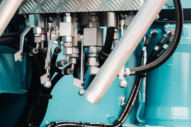 Гидравлический крановый двигатель
