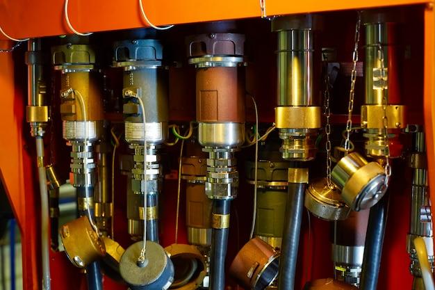 Hydraulic oil drive