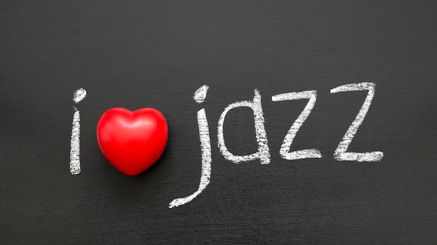 学校の黒板に手書きのジャズフレーズが大好きです
