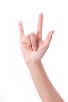 私はあなたの手話が大好きです