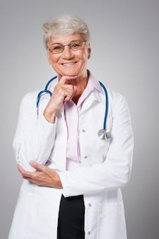 私は完璧な医者になろうとしています
