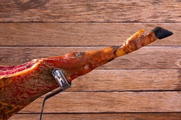 Iberian ham pata negra from spain